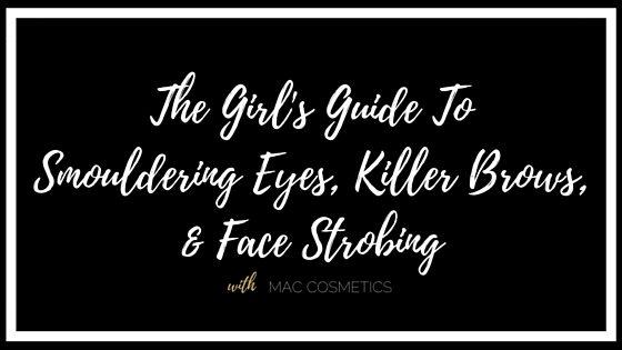MAC Makeup Tutorial: Smokey Eyes and Killer Brows